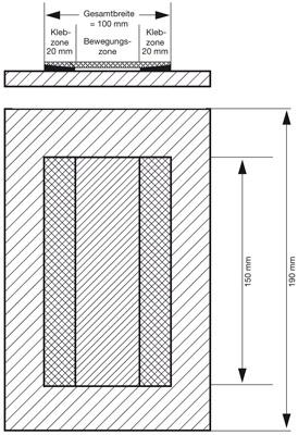 9 Prüfungen der Fugenbandsysteme in IVD-Merkblatt 4 - Abdichten von Fugen im Hochbau mit aufzuklebenden Elastomer-Fugenbändern auf www.abdichten.de