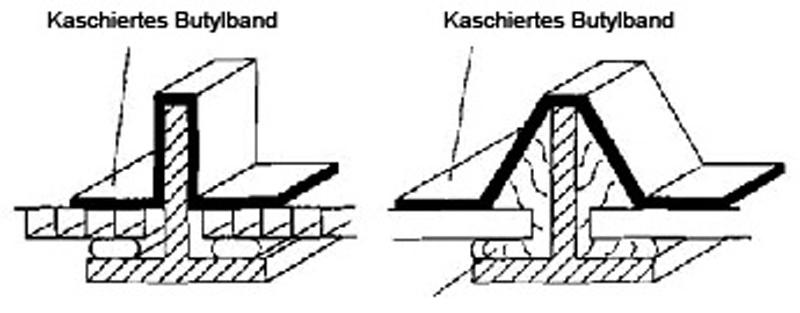 7 Anwendungen und Einsatzgebiete   in IVD-Merkblatt 5 - Abdichtungen mit Butylbändern auf www.abdichten.de