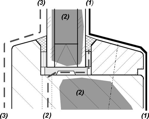 3 Bauphysikalische Grundlagen - Ebenenmodell in IVD-Merkblatt 10 - Glasabdichtung am Holzfenster mit Dichtstoffen auf www.abdichten.de