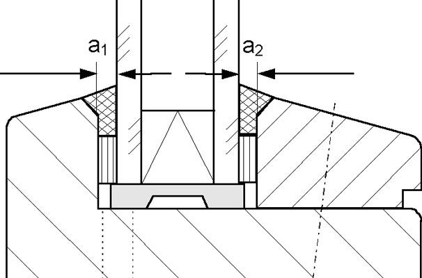 Gut gemocht 5 Ausführung der Abdichtung zwischen Glas und Rahmen mit BF24