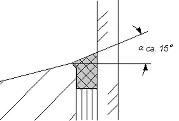 9 Geometrie des Dichtstoffquerschnitts  in IVD-Merkblatt 10 - Glasabdichtung am Holzfenster mit Dichtstoffen auf www.abdichten.de