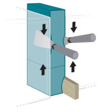 5 Ausführung in IVD-Merkblatt 26-1 - Abdichten von Fenster-  und Fassadenfugen  mit imprägnierten Fugendichtungsbändern und Multifunktionsdichtungsbändern auf www.abdichten.de