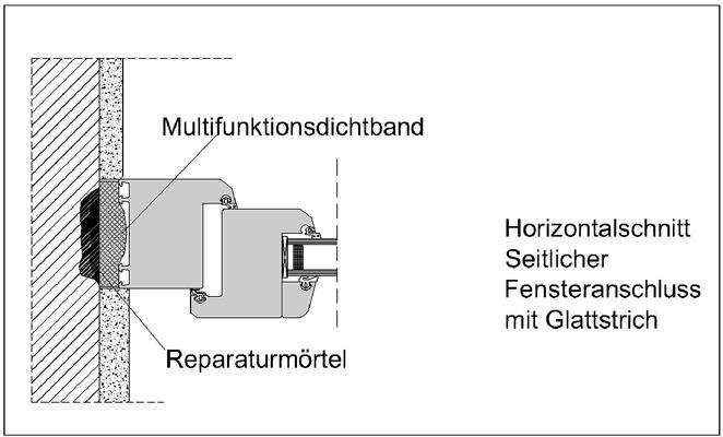 5 Ausführung in IVD-Merkblatt 26 - Abdichten von Fenster- und Fassadenfugen mit vorkomprimierten und imprägnierten Fugendichtbändern  (Kompribänder) auf www.abdichten.de