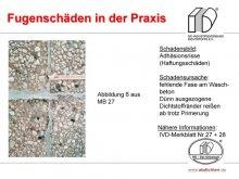 Fugenschäden in der Praxis: Adhäsionsschäden (Haftungsschaden)